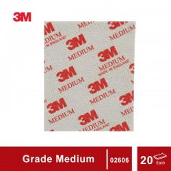 3M Sanding Sponge grade Medium, size: 4 1/2 in X 5 1/2 in, 20 sponges/box
