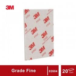 3M Sanding Sponge grade Fine, size: 4 1/2 in X 5 1/2 in, 20 sponges/box