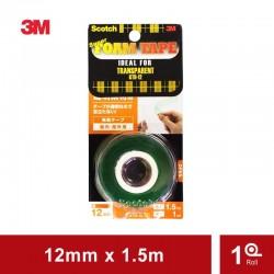 Scotch Double Tape KTD-12 Perekat Super Strong Transparent