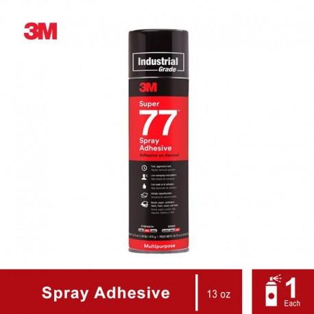 3M Super 77 Multipurpose Adhesive Aerosol (Lem Semprot 3M)