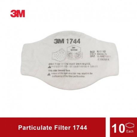 3M Particulate Filter 1744 Taishan - Filter Masker - 10 each/bag