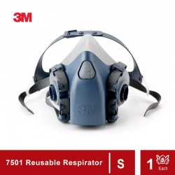 3M Half Facepiece Reusable Respirator 7501