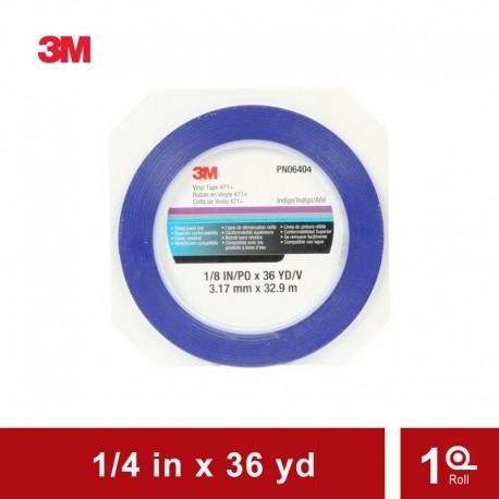 3M Vinyl Tape 471 Blue (Fine Line Masking Tape)