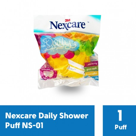Nexcare Daily Shower Puff