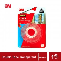 3M Scotch Double Tape VHB Mounting Transparant Bening 4010C