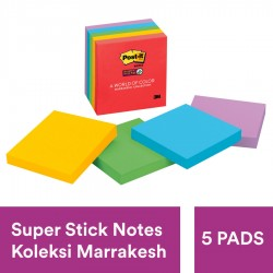 3M Post-it Memo Tempel 100 Lembar 7.6 x 7.6 Marrakesh 654-5SSAN