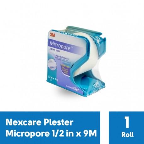 Plester Micropore 1/2 in x 9M Nexcare
