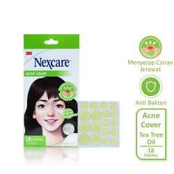 3M Nexcare Acne Patch / Plester Jerawat Tea Tree Oil