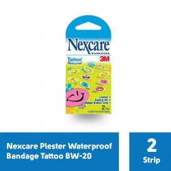 Nexcare Waterproof Bandage Tattoo BW-20 - 1 Pack