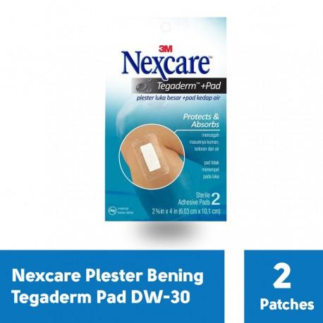 3M Nexcare Plester Luka Bening Tegaderm +Pad Waterproof Transparent Dressing - u/ Luka Sayat, Bakar dll