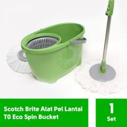 Scotch Brite Alat Pel Lantai Praktis T0 Eco Spin Bucket