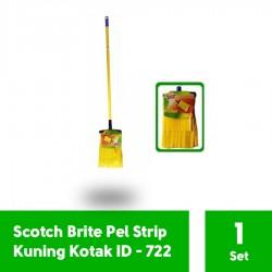 Scotch Brite Pel Strip Kotak Kuning Set ID-722 (eceran) - u/ Pel Lantai Praktis Digunakan & Cepat Kering
