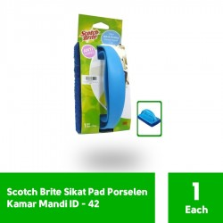 3M Scotch Brite Sikat Porselen Kamar Mandi Pad (eceran) (ID-42) - Sikat Pembersih Lantai Kamar Mandi dg Harga Murah