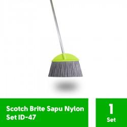 3M Scotch Brite Sapu Nylon Set (eceran) (ID-47) - Sapu Nilon di Jual dg Harga Lebih Murah u/ Menyapu Lantai