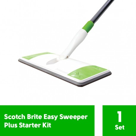3M Scotch Brite Easy Sweeper Plus Starter Kit