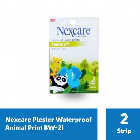 Plester Waterproof Animal Print Nexcare BW-21 - 1 Pack