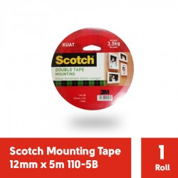 3M Scotch Mounting Tape 12mm x 5m 110-5B