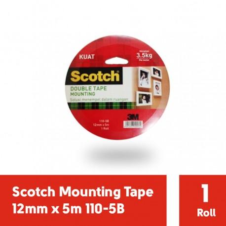 3M Scotch Mounting Tape 12mm x 5m 110-5B