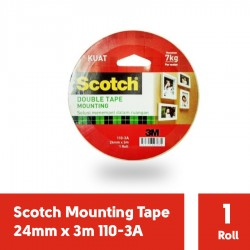 110-3A Scotch Mounting Tape 24mmx3m