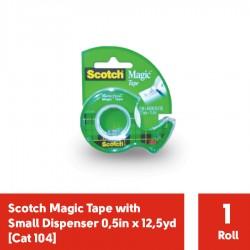 """Cat 104 Magic Tape (isolasi) 1/2"""" x 450"""" (eceran)"""