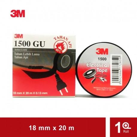 3M Vinyl Electrical Tape 1500GU General Use Black