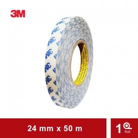 3M Double Tape 8370S Double Tape Tissue - 24mm x 50M