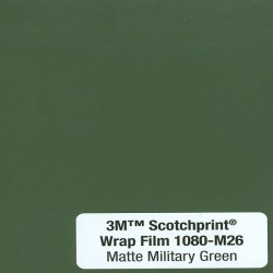 3M Car Wrap Film 1080 – M26 Matte Military Green