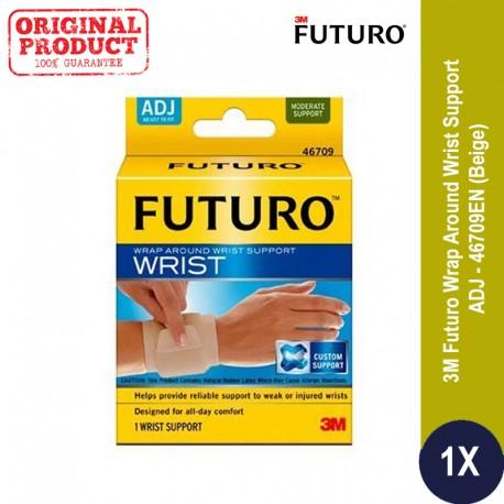 FUTURO(TM) Wrap Around Wrist Support Adj, Beige (46709EN) - Harga Decker Pergelangan Tangan di Jual Online u/ Tangan yang Cedera