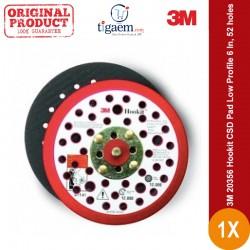3M 20356 Hookit CSD Pad Low Profile 6 In, 52 holes - Harga Paling Murah Merk 3M Kualitas Tempat Amplas Terbaik
