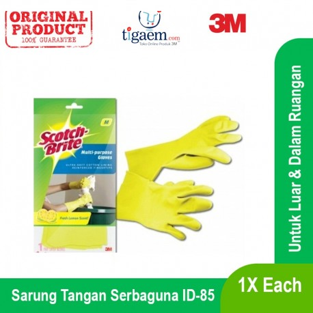 Multi Purpose Gloves 3 Size S, M, L, 24 Pairs/Ctn