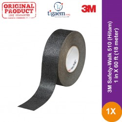 3M Safety-Walk 510 (Hitam) - 1 in X 60 ft (18 meter)