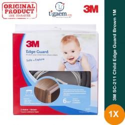3M SC-211 Child Edge Guard Brown 1M - Pelindung Anak dr Cedera Akibat Benturan Tepi, Pinggir, Ujung Meja Tajam di Jual Murah