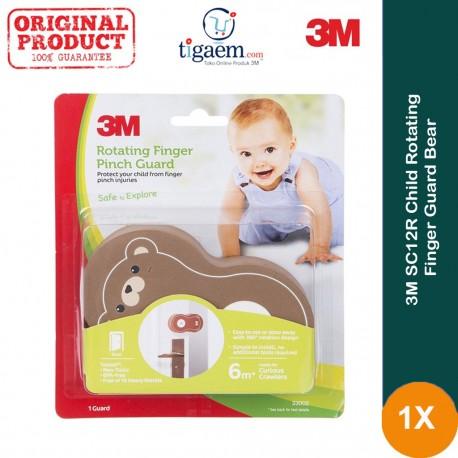 3M SC-12R Child Rotating Finger Guard Bear 6/CV - Harga Termurah u/ Melindungi Anak (bayi) dari Bahaya Terjepit Pintu
