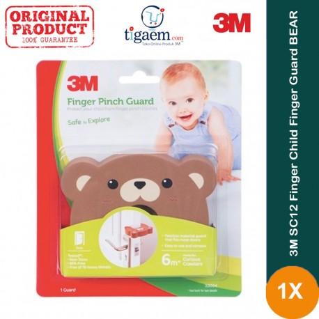 3M SC12 Finger Child Finger Guard BEAR 8/CV - Melindungi Anak (bayi) dari Bahaya Terjepit Pintu di Jual dg Harga Murah & Terbaik