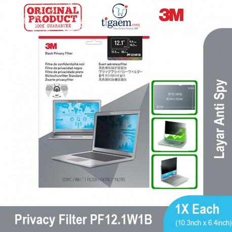 """PF 13.3W Notebook Privacy Filters - fits 13.3"""" Widescreen (Filter Antispy Laptop)"""