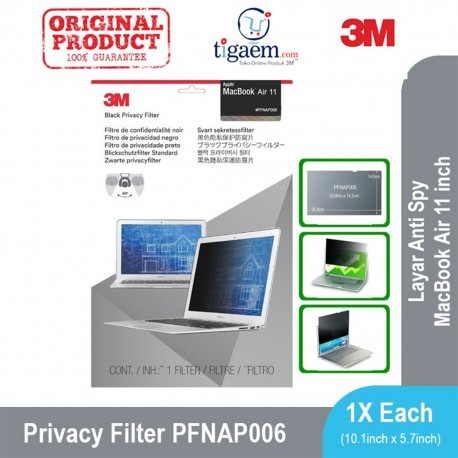 3M(TM) Privacy Filter for Widescreen Desktop LCD Monitors, 23 Inch, (PF23.0W9) - Harga Murah Merk Terbaik 3M