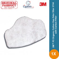 3M™ 3744 Organic Cotton Gas Odor filter
