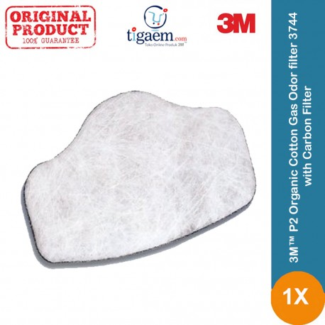 3M™ 3744 Organic Cotton Gas Odor filter