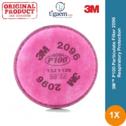 3M™ P100 Particulate Filter 2096, Respiratory Protection, with Nuisance Level Acid Gas Relief