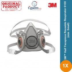 3M™ Half Facepiece Reusable Respirator 6100 (size : Small)