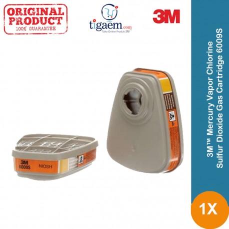 3M™ Mercury Vapor/Chlorine/Sulfur Dioxide Gas Cartridge 6009S - dg Harga Murah