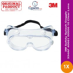 3M™ Safety Splash Goggle 334AF, 40661-00000-10 Clear Lens
