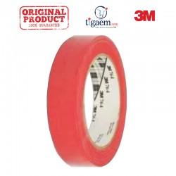 3M Vinyl Tape 764 Red, 1 in x 36 yd, tebal: 0.125 mm