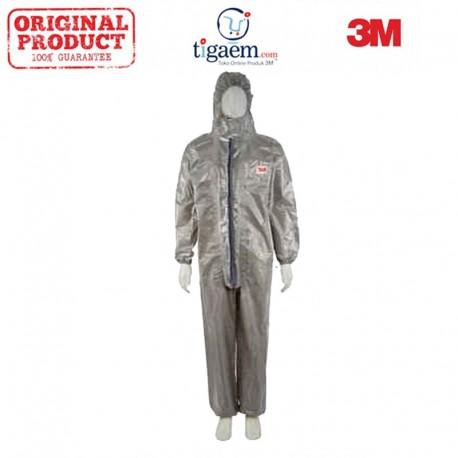 3M 4570 Coverall Type 3/4/5/6 Size M 12/Case - Jas Mantel Keselamatan Kerja (Safety)