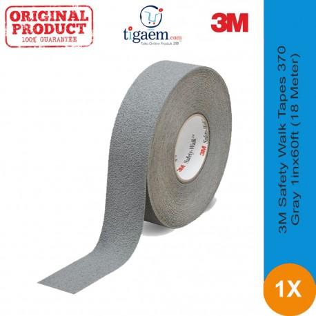 3M™ Safety-Walk™ Tapes 370, Gray, 1inx60ft (18 Meter) Roll - Jual anti slip tape harga murah