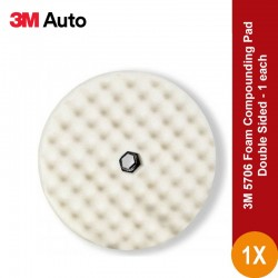 3M 5706 Foam Compounding Pad, Double Sided - Foam Kompon Pad Polishing (poles) Terbaik u/ Body Repair Mobil Jual dg Harga Murah