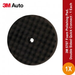 3M 5707 Foam Polishing Pad, Double Sided Quick Connect - Harga Terbaik & Murah Foam u/ Poles Mobil Di Jual Murah Secara online