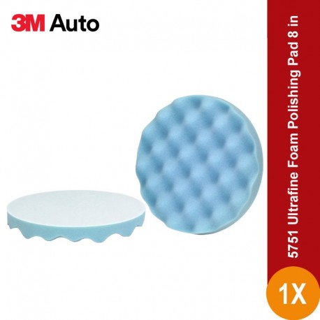 3M™ Perfect-It™ Ultrafine Foam Polishing Pad, Single Sided, Flat Back, 05751