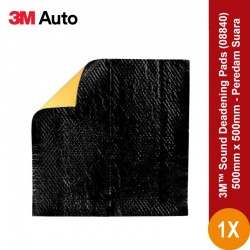 3M™ Sound Deadening Pads, 08840, 500mm x 500mm
